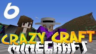 "Minecraft CRAZY CRAFT 3.0 #6 ""EPIC LUCKY BLOCK DROP!"" (Crazy Craft SMP)"