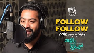 Follow Follow Song Making |  Nannaku Prematho | Jr.NTR | DSP | Rakul Preet