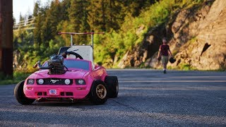 World's Fastest Mustang Power Wheels Toy Car