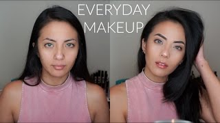 Everyday Makeup Tutorial - NO FAKE EYELASHES | itsmeana