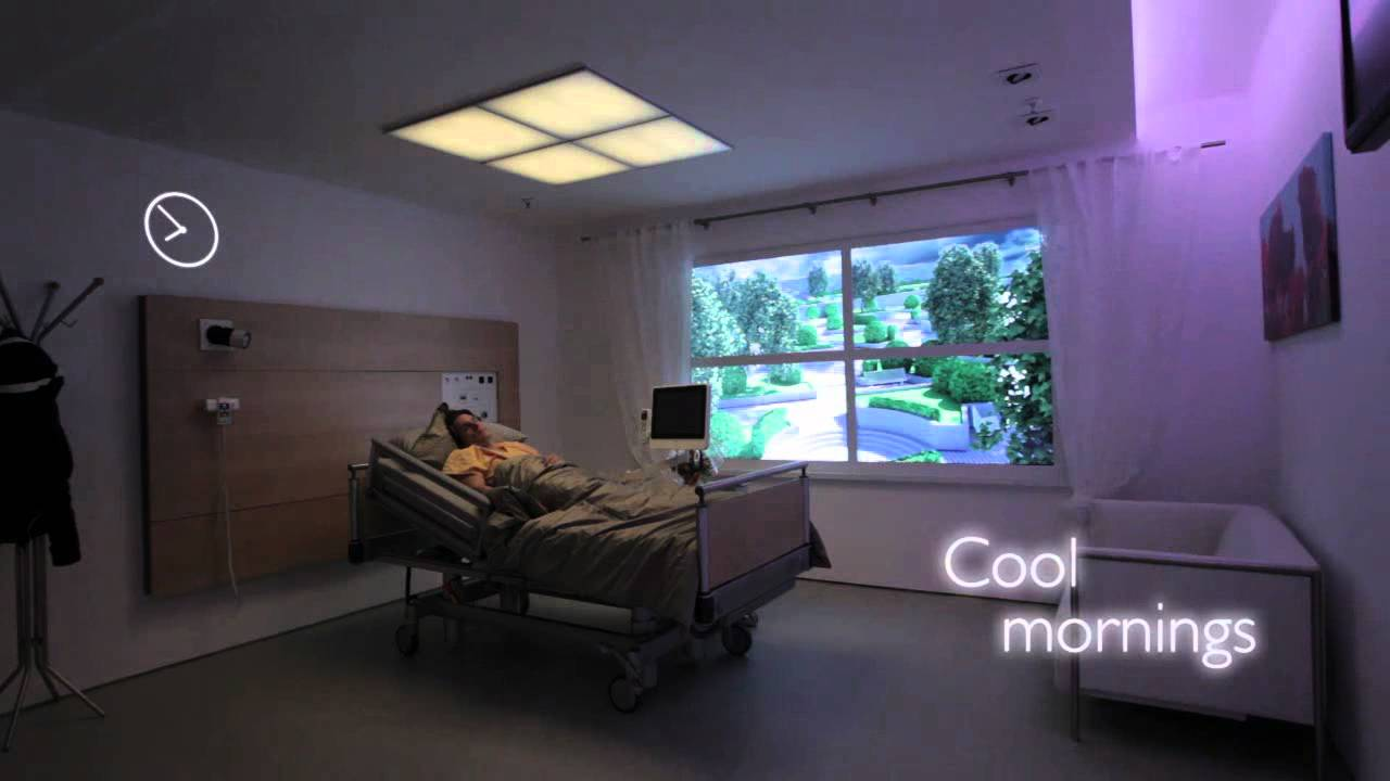 Healwell Patient Room Lighting Solution Youtube