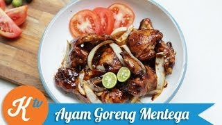 Resep Ayam Goreng Mentega (Butter Chicken Recipe Video) | MELATI PUTRI