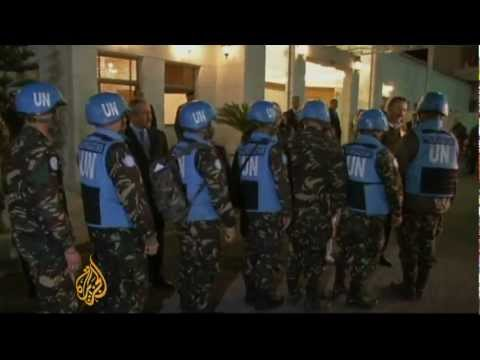 UN peacekeepers freed after Syria captivity