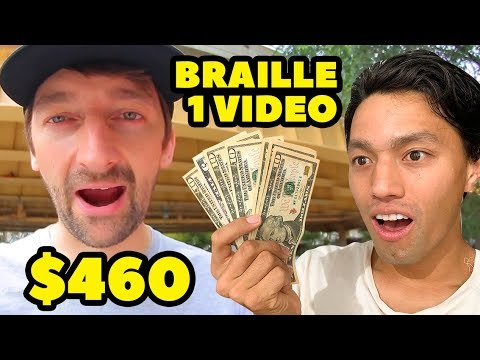 Braille Paid Me $460 to Be In Their Video