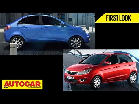 New Tata Motors Bolt Hatchback & Zest Sedan | First Look Video | Autocar India