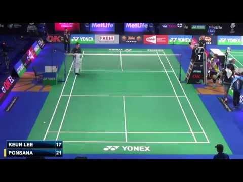 R16 - MS - Boonsak Ponsana vs Lee Dong Keun - 2014 Badminton Denmark Open
