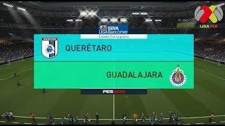 PES 2018 | Querétaro vs Chivas | Jornada 7 Liga Mx | Gameplay PC