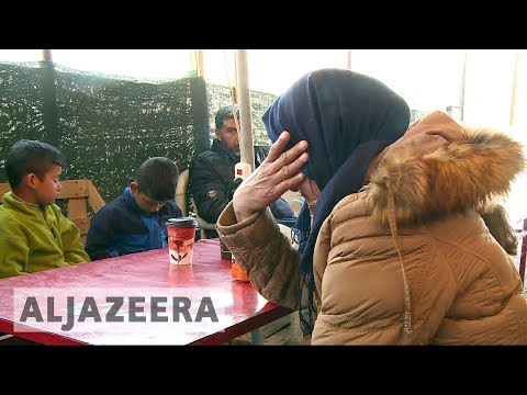 'From hell to hell': Sharp rise in refugee arrivals on Lesbos