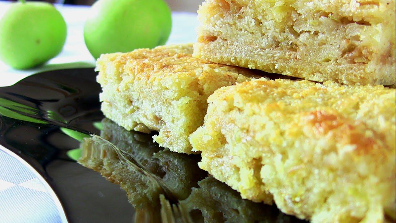 Насыпной пирог с яблоками рецепт с фото
