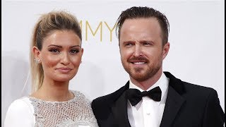 Aaron Paul. Family (his parents, brother, sisters, ex-girlfriends, wife)