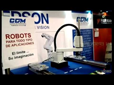 Robot SCARA: Novedad de la FIB 2012 frente a las cámaras de Reportero Industrial
