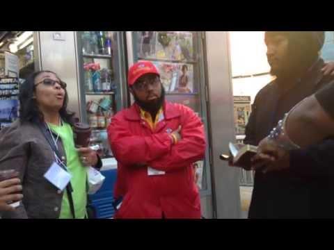 Black Christian Women VS. Hebrew Israelites on Time Square