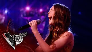 Gracie-Jayne Performs 'Many Rivers To Cross' | The Semi Final | The Voice Kids UK 2019