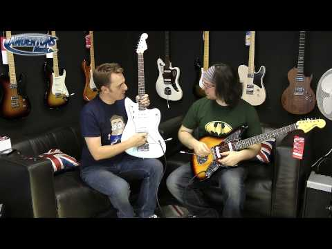 Squier Vintage Modified Jazzmaster & Jaguar Demo