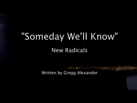 """""""Someday We'll Know"""" - New Radicals Lyric Video - Flight from Carlsbad to Van Nuys (KVNY Airport)"""