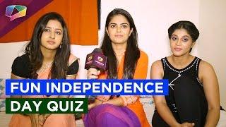 Fun Independence day quiz with Krishnadasi stars