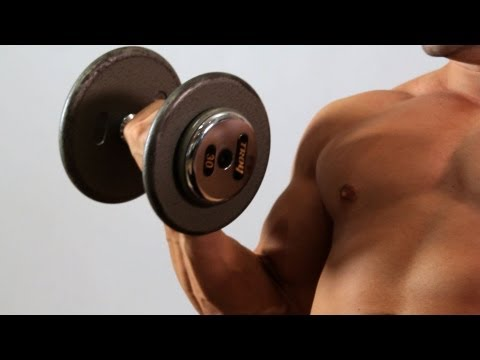 Incline Dumbbell Bicep Curl | Home Arm Workout for Men Image 1