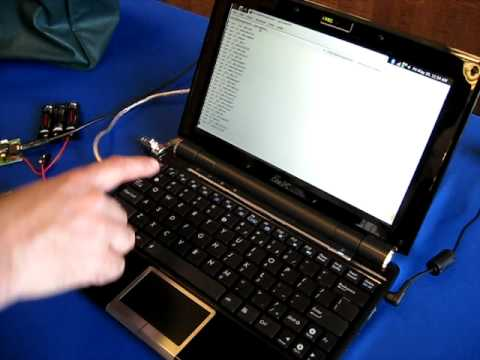 Ham Radio at Maker Faire 2009 - APRS demo PART 2