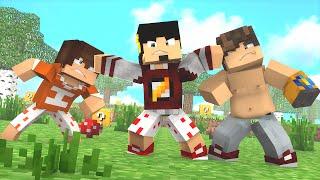 Minecraft: ESCADONA - GORDO VS MAGRO ‹ AMENIC ›