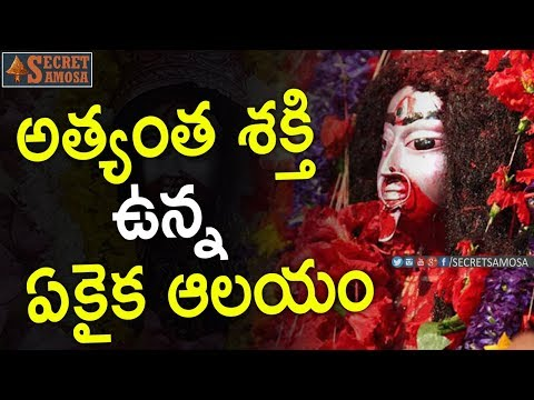The Only One Powerful Tantric Hindu Temple In India | #UnkownFacts in Telugu | Secret Samosa
