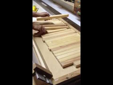 Perfect and massive tenon using router. Part 1/2 - Espigas en series y perfectas