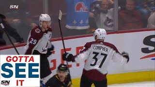 GOTTA SEE IT: Nathan MacKinnon Blows By All The Canucks, Scores OT Winner 27 Seconds In