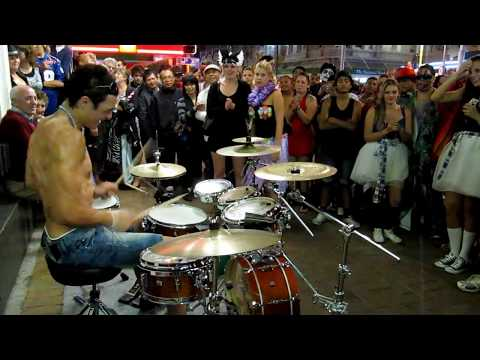 Amazing Snare Drum Solo Dylan Elise 2011 Part 8/10