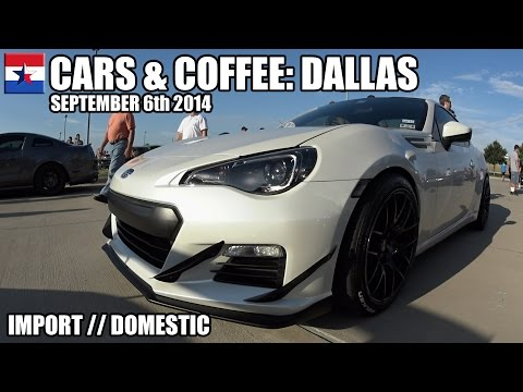 Cars & Coffee Dallas // September 6th 2014