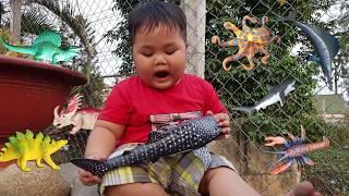 Trò Chơi Đi Săn Sinh Vật Biển ❤ ChiChi ToysReview TV ❤ Đồ Chơi Trẻ Em