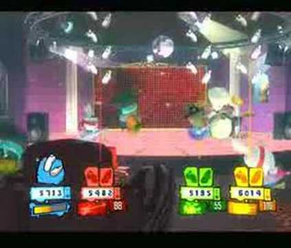 how to get funky town on rayman raving rabbids 2