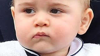 Gorgeous little Prince George