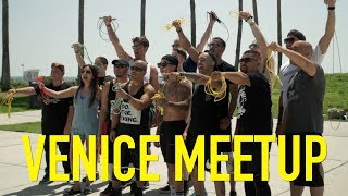 THE DAY THAT CHANGED MY LIFE! RUSH ATHLETICS JUMP ROPE TOUR: Venice Beach L.A: Vlog 027