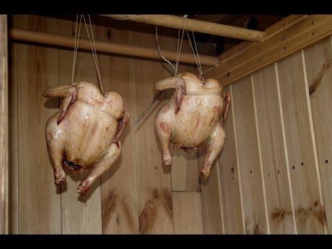 Копчение курицы своими руками