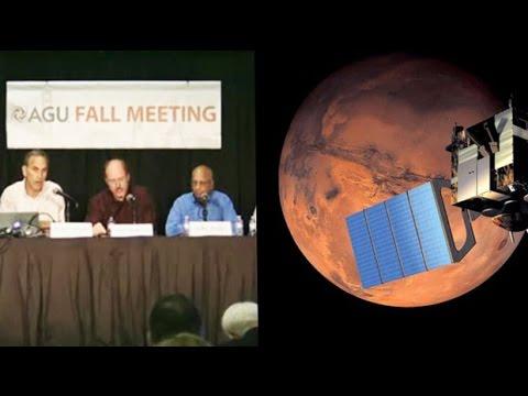 Nasa scientists explain findings from Nasa's Mars Curiosity Rover