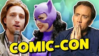 NIC CAGE AT COMIC-CON 2017?!