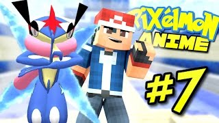 Pixelmon Anime ? ASH-GRENINJA! (Minecraft Pixelmon 5.0 Roleplay) Episode 7