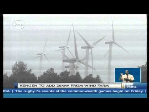 Kengen to increase Ngong wind power firm by an extra twenty megawatts