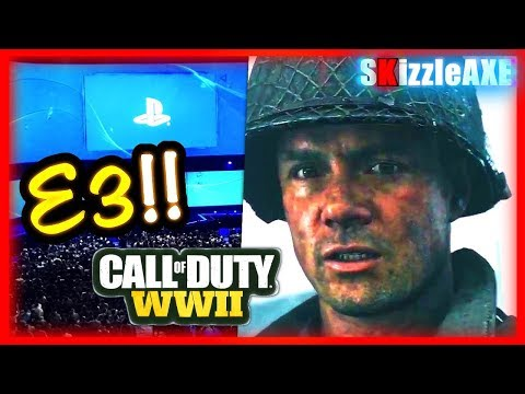 SONY E3 2017 Live Stream, Call of Duty World War 2 Gameplay, NEW PS4 GAMES (PlayStation Live Stream)