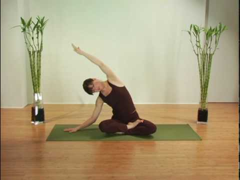 Yoga for  Breast Cancer - Chapter 3, Seated Side Bend