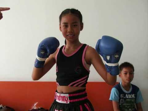 Muay Thai Girl Fighter Video
