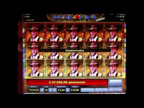 Book of Ra Online Spielen mit einem Mega Gewinn von 75T Euro !
