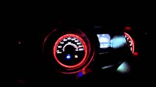 2013 Shelby GT 500 200 mph (320 km/h) topspeed run on German Autobahn