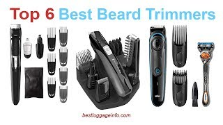 Best Beard Trimmers | Top 6 Best Beard Trimmers for men reviews.
