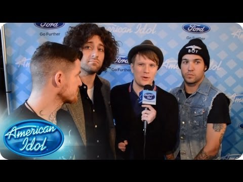 Catching Up With Fall Out Boy - AMERICAN IDOL SEASON 12 thumbnail