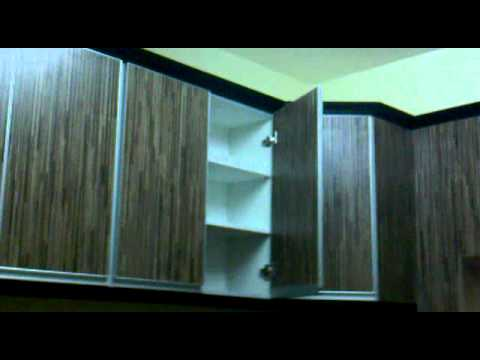 Pemasangan kabinet dapur youtube for Pemasangan kitchen set