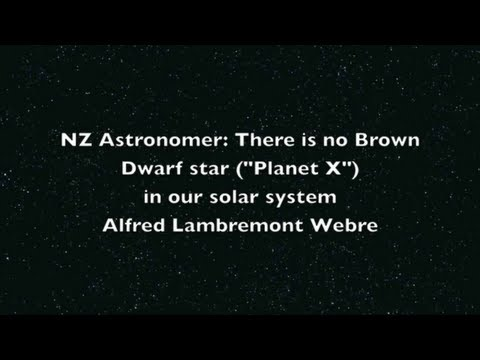Marshall Masters' Planet X / Nibiru Debunked by New Zealand Astronomer (HD Version)