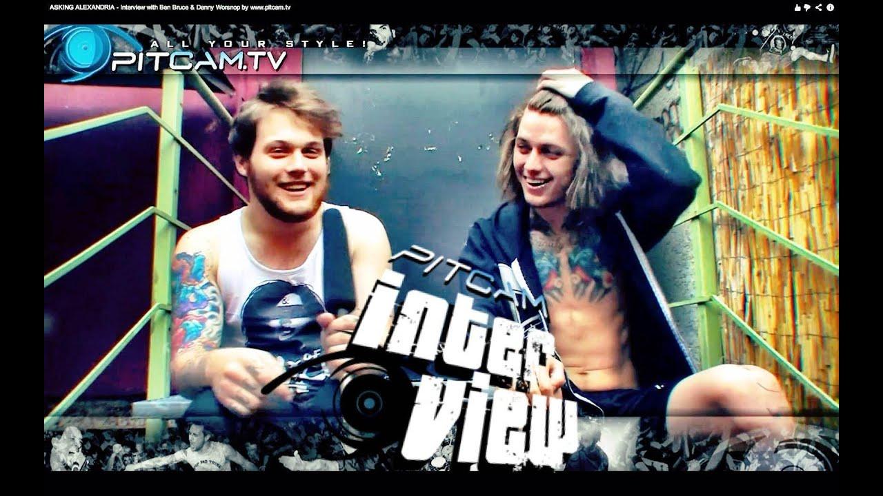 Danny Worsnop And Ben Bruce 2012 Ben Bruce Danny Worsnop