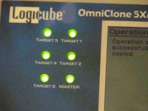 Logicube OmniClone 5Xi IDE SATA Hard Drive Duplicator