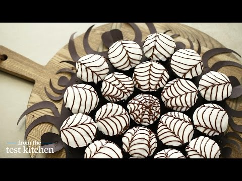 Spider Web Cupcakes - From the Test Kitchen