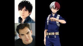 Anime Voice Comparison- Shoto Todoroki (My Hero Academia)